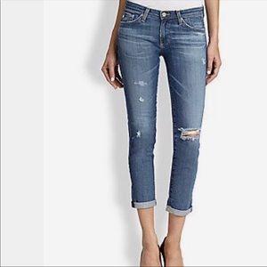 AG Adriano Goldschmied Stilt Roll Up Crop Jeans